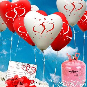 Luftballons der Trauzeugin!