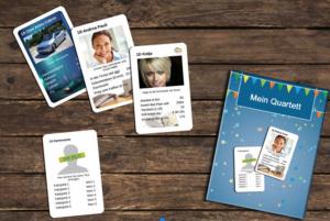Personalisierte Kartenspiele der Trauzeugin