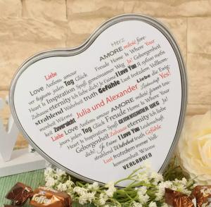 Hochzeits-Geschenkdose