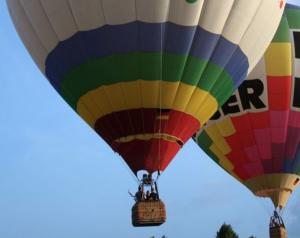 Ballonfahrt als Geschenk der Trauzeugin