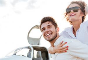 Romantik-Flug als Geschenk der Trauzeugin