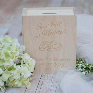 Hochzeit Sparbuch Geschenk Trauzeugin